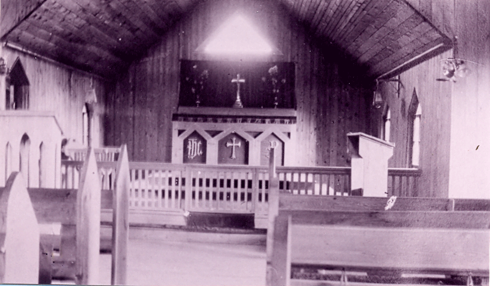 Chancel in 1916
